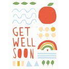 Postkarte - Get Well Soon
