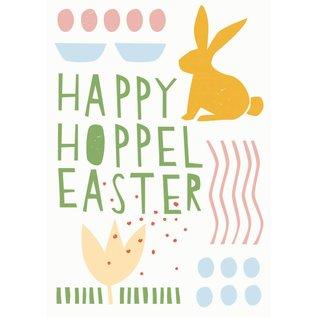 Postkarte - Hoppel Easter
