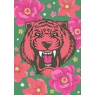 ha001 | happiness | Asia Tiger - postcard A6