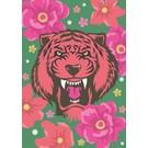 Postkarte - Asia Tiger