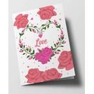 ha304 | happiness | Love - folding card