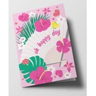 ha302 | happiness | Oh Happy Day - folding card