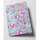 ha307 | happiness | Cherry Blossoms - folding card