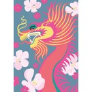 ha003 | happiness | Dragon - postcard A6
