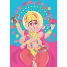 Postkarte - Ganesha