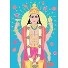 Postcard - Vishnu