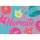 Postkarte - Namaste