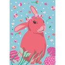 lu097 | luminous | Easter Bunny - postcard A6