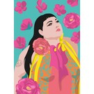 lu909 | luminous | Beth Ditto - postcard DIN A5