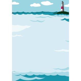 cc517 | crissXcross | Lighthouse - notepad DIN A5