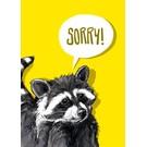 Postkarte - SORRY