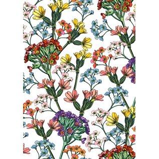 il7037 | illi | Miala Weiß - Geschenkpapier Bogen 50 x 70 cm