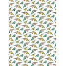Wrapping Paper Lintuja
