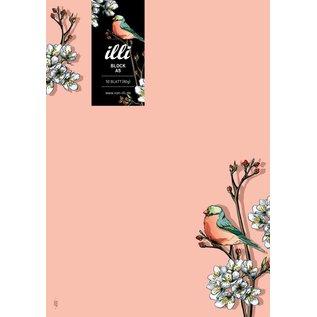 IL8015 | illi | Lintu - Block DIN A5