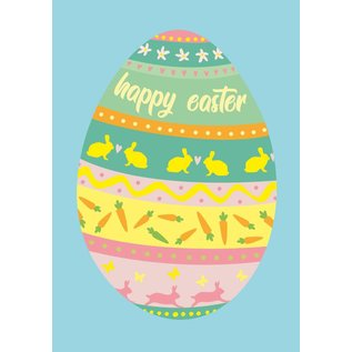 Postkarte - Happy Easter