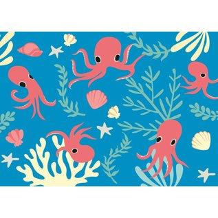 Postkarte - Kraken