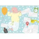 Postkarte - Baby