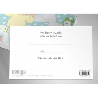 cc155 | crissXcross | Baby - Postkarte A6