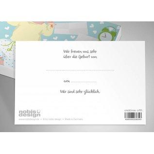 cc155 | crissXcross | Infant - postcard A6