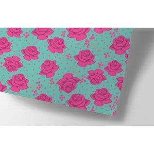 Geschenkpapier - Roses