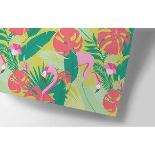 ha705 | happiness | Jungle - Geschenkpapier Bogen 50 x 70 cm