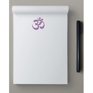 ha802 | happiness | Om Character - notepad A6