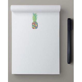 ha804   happiness   Pineapple - Schreibblock A6