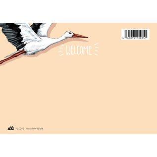 IL0240   illi   Bata - Postkarte A6