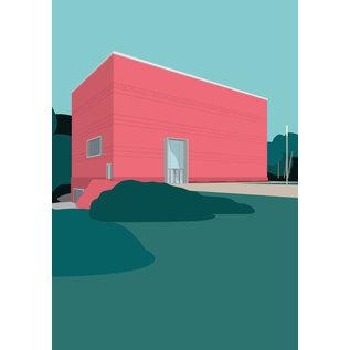 mo501 | ARTPRINT A5 - Bauhaus Museum