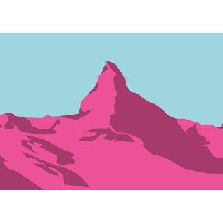 bv002 | bon voyage | Matterhorn, Switzerland - postcard A6