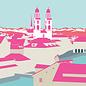 bv005 | bon voyage | Münster Zürich, Switzerland - Postkarte A6
