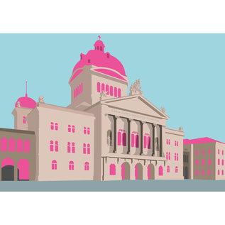 Postcard - Bundeshaus Bern, Switzerland