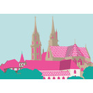 Postcard - Münster Basel, Switzerland