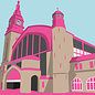 bv022 | bon voyage | Bahnhof, Hamburg - Postkarte A6