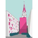 bv027 | Postkarte - Christuskirche, Köln