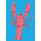 lu098 | luminous | lobster - Postkarte A6