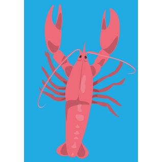 lu098 | Postkarte - lobster