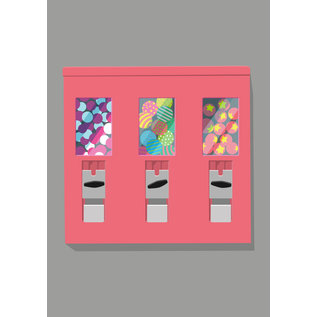 lu101 | luminous | Gumball Machine - postcard A6