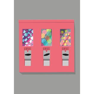 lu101 | Postkarte - gumball maschine