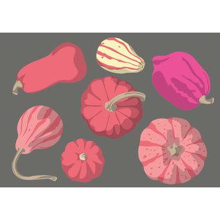 lu103 | luminous | pumpkins - Postkarte A6