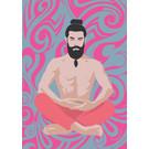 Postcard - Yoga - Meditation