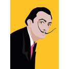 ng053 | pop art new generation | Salvador Dali - Postkarte A6