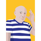 ng052 | pop art new generation | Pablo Picasso - postcard A6
