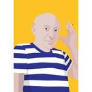 ng052 | pop art new generation | Spanish Artist - postcard A6