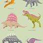 bf006 | Postkarte - Dinosaurier