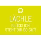 ws044 | Wortsinn | Lächle ... - Postkarte A6