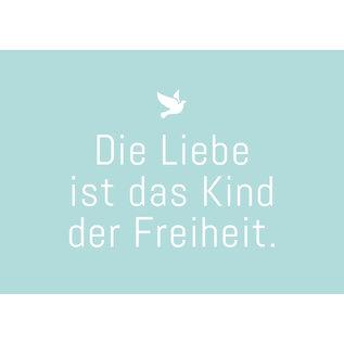 ws046 | Postkarte - Die Liebe ist...
