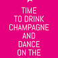 ws055 | Postkarte - Time to drink Champagne...