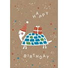 Postcard - Happy Turtle