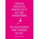 ws056 | Wortsinn | Frauen von heute... - Postkarte A6